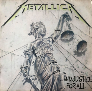 Metallica ‎- ...And Justice For All (LP) (G-VG/VG-)